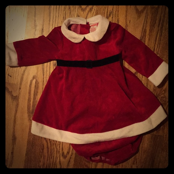 baby girl santa dress 12 month christmas - 12 Month Christmas Dress